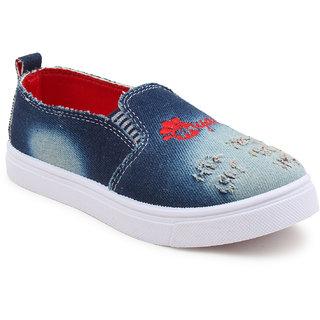 Myau Boys Girls Slip on Loafers