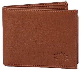 Woodland Brown Leatherite Bi- Fold Wallet For Men