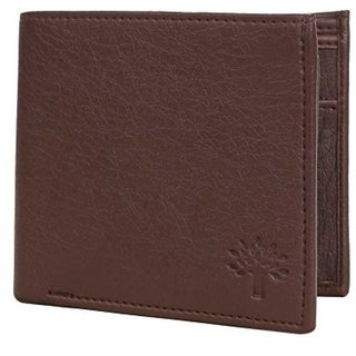 Woodland Men Brown Artificial Leather Wallet (Synthetic leather/Rexine)