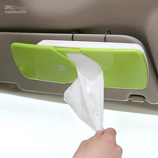 Right Traders Car Sun Visor Tissue Box  Tissue Holder  Car Accessories Decor  New Case
