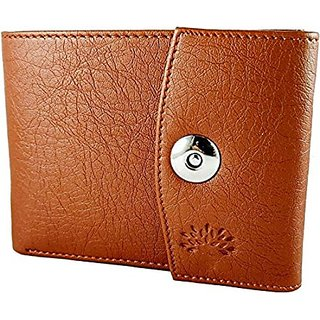 Woodland Artificial Leather Men's Wallet (Tan) (Synthetic leather/Rexine)