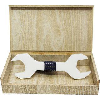 Visach Acrylic Designer Neck Bows For Men