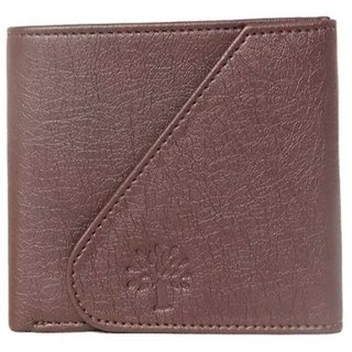 Woodland Side Filp Men Brown Artificial Leather Wallet