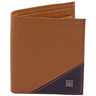 Woodland Scenics Leather Tan Fashion Short Wallet