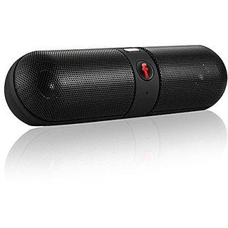 QHMPL Bluetooth Speakers Portable Wireless Speaker Build-in Microphone Pill Speaker RANDOM COLURS