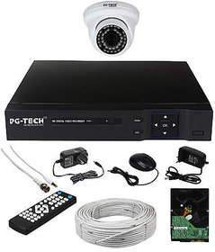 4 CH DVR,1 AHD DOME CAMERA 1MP,1 TB HDD,3+1 CCTV WIRE BUNDEL,1 CH POWER SUPPLY,MOUSE REMOTE,BNC,DC. COMPLETE FULL COMBO