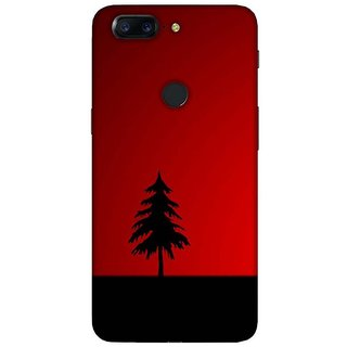 For OnePlus 5T zigzag pattern ( zigzag pattern, pattern, black background, zigzag ) Printed Designer Back Case Cover