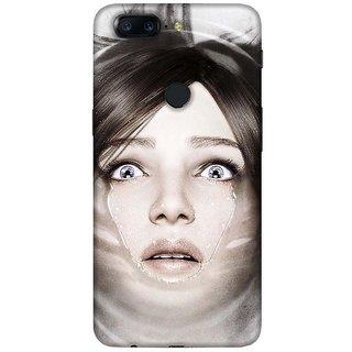 For OnePlus 5T floral pattern ( floral pattern, flower, pattern, floral background ) Printed Designer Back Case Cover