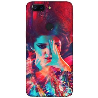For OnePlus 5T beautiful pattern ( beautiful pattern, pattern, abstract, black background ) Printed Designer Back Case Cover
