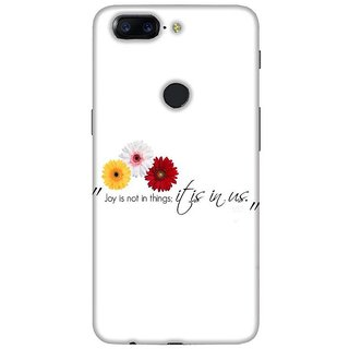 For OnePlus 5T hara me ( hara me, good quotes, nice quotes, black background ) Printed Designer Back Case Cover