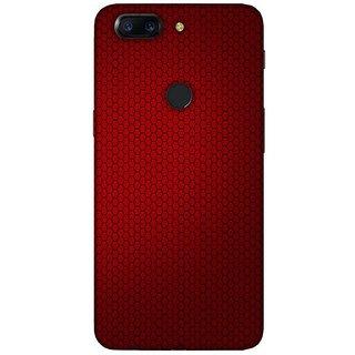 For OnePlus 5T blue pattern ( blue pattern, pattern, flower, flower pattern ) Printed Designer Back Case Cover