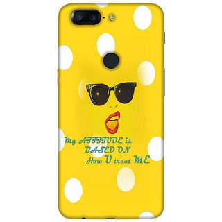 For OnePlus 5T triangle tiger ( triangle tiger, tiger, many tiger, lion, jungle ) Printed Designer Back Case Cover