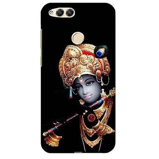 For Huawei Honor 7X om ganeshay namah ( om ganeshay namah, ganesha, bhagwan, lord, god, jesus, christrian, om, allah ) Printed Designer Back Case Cover