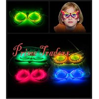 Neon Glow Mask Set Of 2pc - Perfect Product For This New Year Party