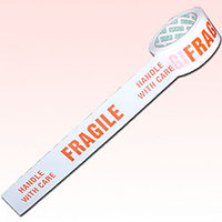 PRINTED-FRAGILE HANDLE WITH CARE.PARCEL COURIER CARTON SEALING PACKING TAPE 6PCS
