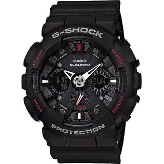 Casio G-Shock Analog-Digital Black Dial Mens Watch - GA-120-1ADR (G346)