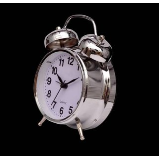 Tradeaiza Analog Twin Bell Alarm Clock -003