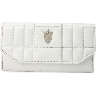 Styler king White Plain Clutch