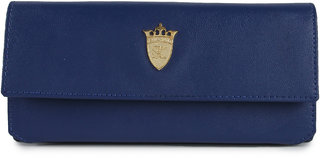 Styler king Blue Plain Clutch