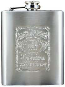 Lucky Traders stainless steel hip flask 7 oz ( pack of 1)