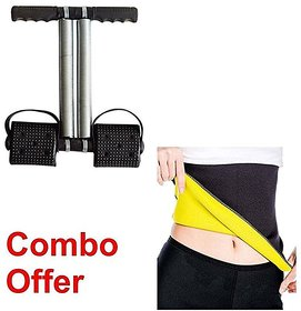 S4D combo offer Ab Exerciser Single Spring Tummy Trimmer-Waist