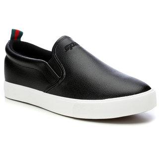 Sparx Women's Black & White Sneakers