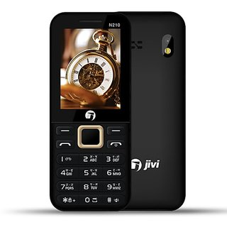 JIVI N210 FULL MULTIMEDIA DUAL SIM MOBILE PHONE WITH TORCH AND CAMERA