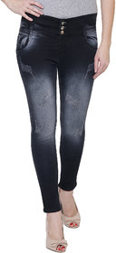NJs Black Woman Skinny Jeans