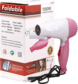 Imported unique Unisex Styish High quality Hair dryer  With 2 Speed 1000 WATTS Styler M-1290 Any Time Any Where