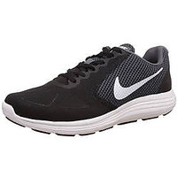 Nike Men'S Revolution 3 Black Running Shoe