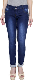 NJs Navy Blue Woman Skinny Jeans