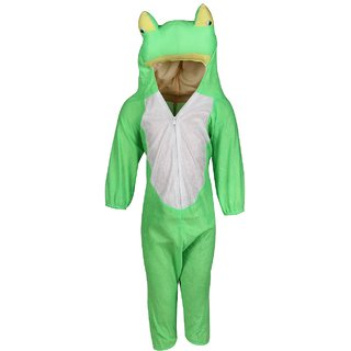 Raj Costume Polyester Frog Fancy Dress For Kids