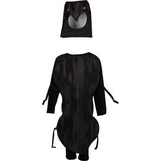 Raj Costume Polyester Crow Bird Costume For Kids