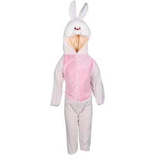Raj Costume Polyester Rabbit Animal Costume For Kids