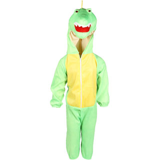 Raj Costume Polyester Crocodile Animal Costume For Kids