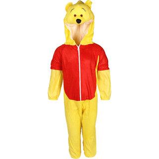 Raj Costume Polyester Bear Animal Costume For Kids