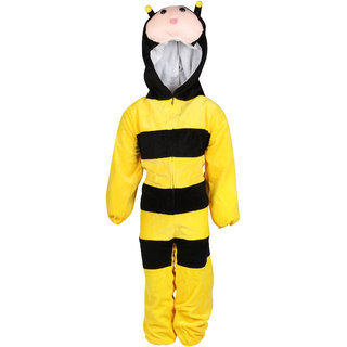 Raj Costume Polyester Honey Bee Insect Fancy Dress For Kids