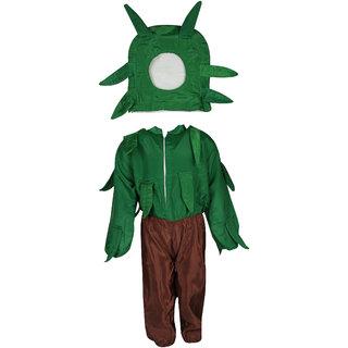 Raj Costume Polyester Tree Fancy Dress For Kids