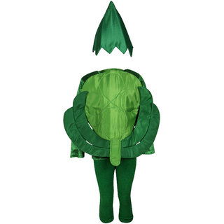 Raj Costume Polyester Cabbage Fancy Dress For Kids