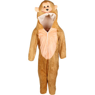 Raj Costume Polyester Monkey Animal Costume For Kids