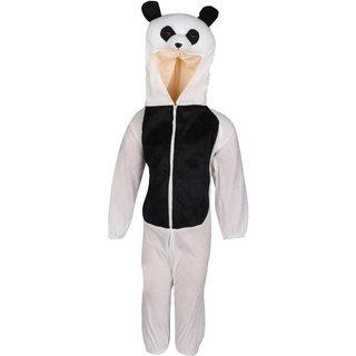 Raj Costume Polyester Panda Animal Costume For Kids