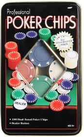 Poker Set 100 Chips Set Casino