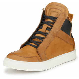 Alberto Torresi Shomani Tan  Blue Boot For MenS