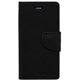 Vinnx Flip Cover For Samsung Galaxy A5(2017) Mercury Case (Black)