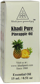 Khadi Pure Herbal Pineapple Essential Oil - 15ml