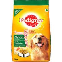 Pedigree (Adult - Dog Food) Vegetarian, 1.2 Kg Pack