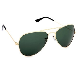 Royal Son Green Aviator Unisex Sunglass