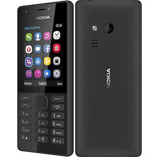 Nokia 216 Keypad mobile phone DUAL SIM with Camera / LED flash / Music  Player/Torch/FM - Black Clour