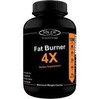 Sinew Nutrition Natural Fat Burner 4X (Green Tea, CLA,