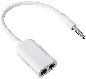 Avionics 3.5mm Audio Splitter Aux Cable 3.5MM Jack Head